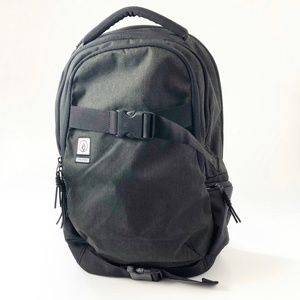 Volcom Substrate Backpack Black Skateboard Pack